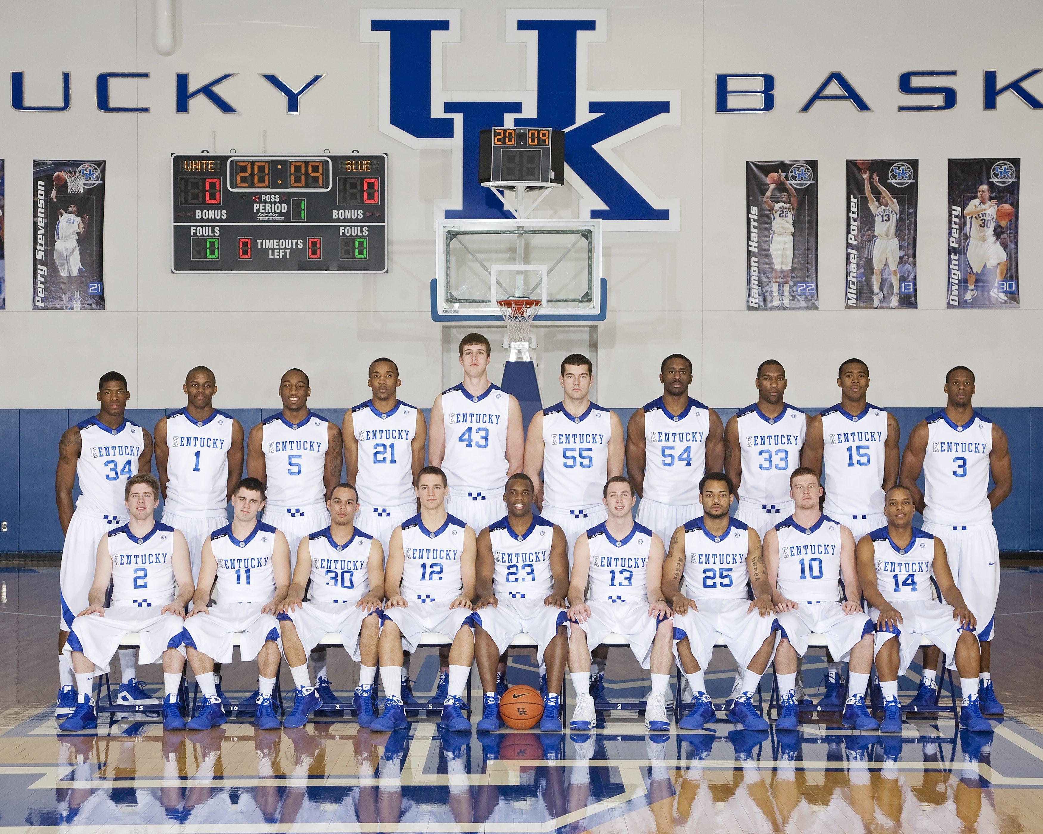 Kentucky Wildcats Men S Basketball: 2010 Kentucky Basketball Roster