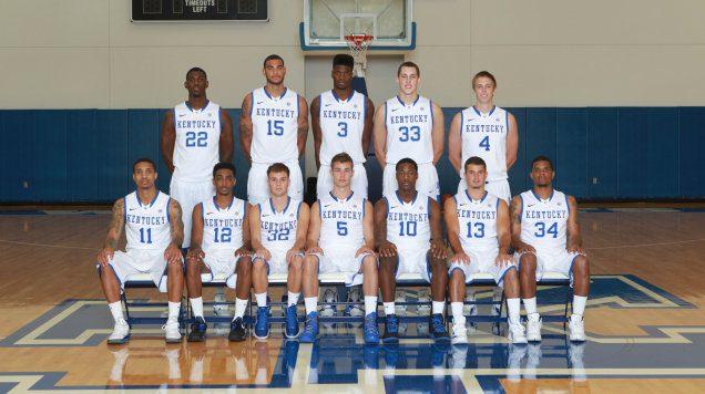 2014–1315 Kentucky Wildcats mens basketball team