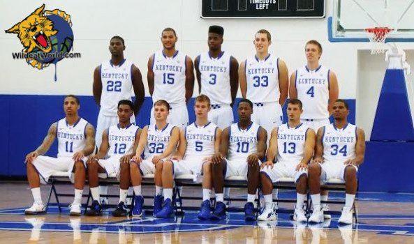 University Of Kentucky Basketball 2013 2014 An early team photo of...