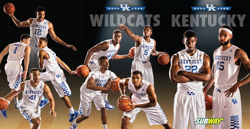 Kentucky Basketball: Kentucky Basketball Posters, Schedule Cards Available